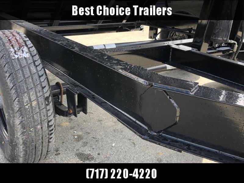 """2020 Load Trail 7x14' Gooseneck Dump Trailer 14000# GVW * GD8314072 * 8"""" I-BEAM FRAME * 12K JACK * 3-WAY GATE * TARP KIT * SCISSOR HOIST * 10GA 2PC SIDES & FLOOR * 6"""" TUBE BED FRAME"""
