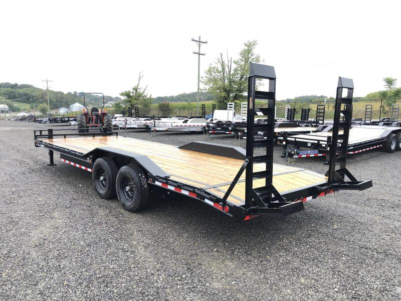 """2019 Load Trail 102x22' Equipment Trailer 14000# GVW * 102"""" DECK * DRIVE OVER FENDERS * STAND UP RAMPS * RUBRAIL * DEXTER'S * 2-3-2 * POWDER PRIMER"""