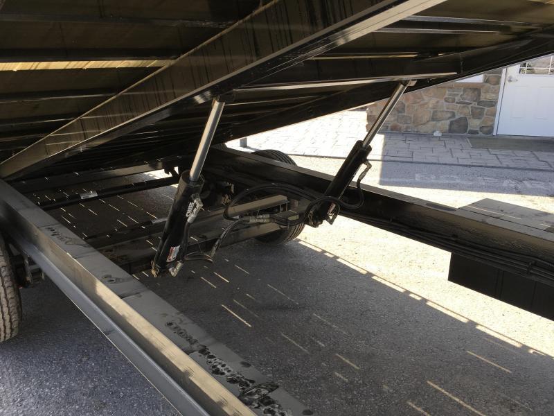 "2019 Ironbull 102""x22' Gooseneck Deckover Power Tilt 14000# GVW * CLEARANCE"