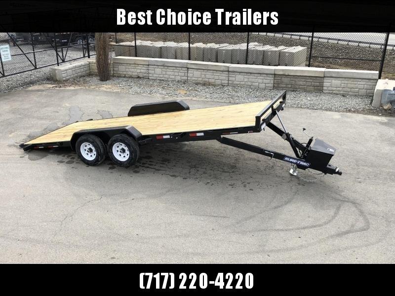 2020 Sure Trac 7x20' 9900# POWER Tilt Car Trailer * ST8220CHWPT-B-100