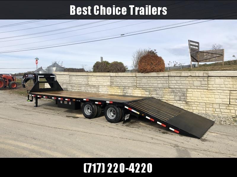 2020 Load Trail 102x30' Gooseneck Deckover Hydraulic Dovetail Trailer 22000# * GL0230102 * DEXTER'S * HDSS SUSPENSION * WINCH PLATE * 2-3-2 * ZINC PRIMER * CLEARANCE