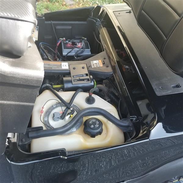 2015 GAS CLUB CAR PRECEDENT WITH BLACK ALPHA BODY KIT
