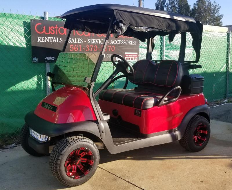 2016 Red & Black Club Car Precedent Golf Cart