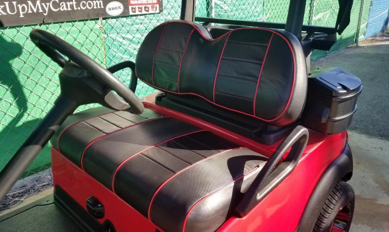 2016 Red & Black Club Car Precedent Golf Cart