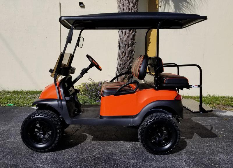 2016 Club Car Precedent Gas EFI Engine Golf Cart