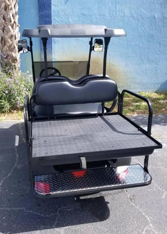 2014 Club Car Precedent Golf Cart w/Platinum Gray Caddy Body Kit