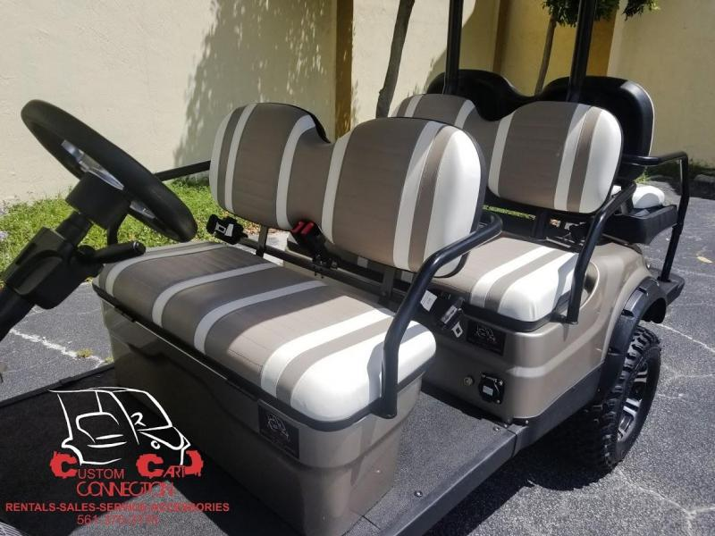 2020 ICON i60L Champagne Lifted Golf Cart
