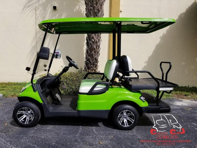 2020 ICON i40 Lime Green Golf Cart