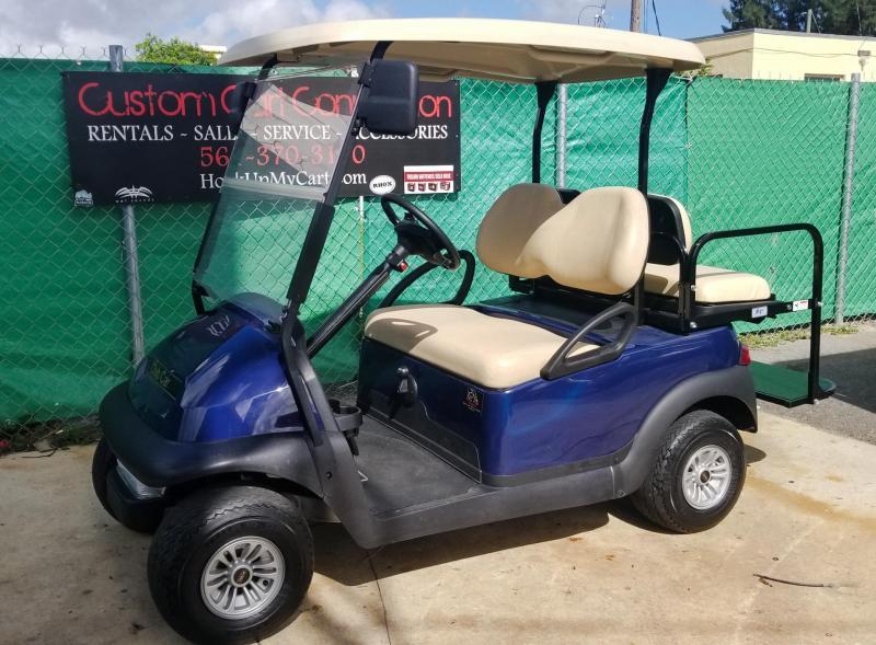 2018 EFI Fuel Injected Club Car Precedent Golf Cart