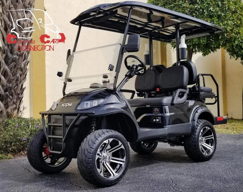 2020 ICON i40L w/Golf Bag Rear Flip Seat Golf Cart
