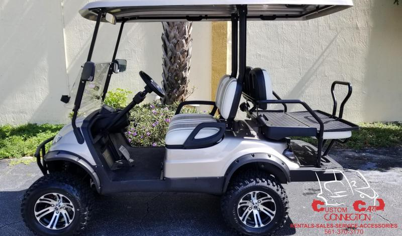 2020 ICON i40L Champagne Lifted Golf Cart