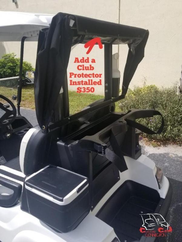 "2020 ICON Raven Black i40 Golf Cart w/14""Laguna Rims & Tires"