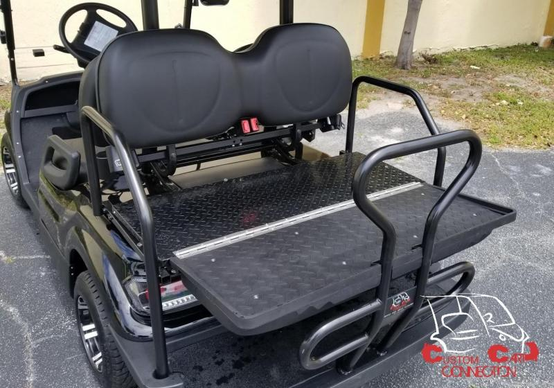 2020 ICON i40FL Caribbean Blue Lifted Golf Cart 25+mph