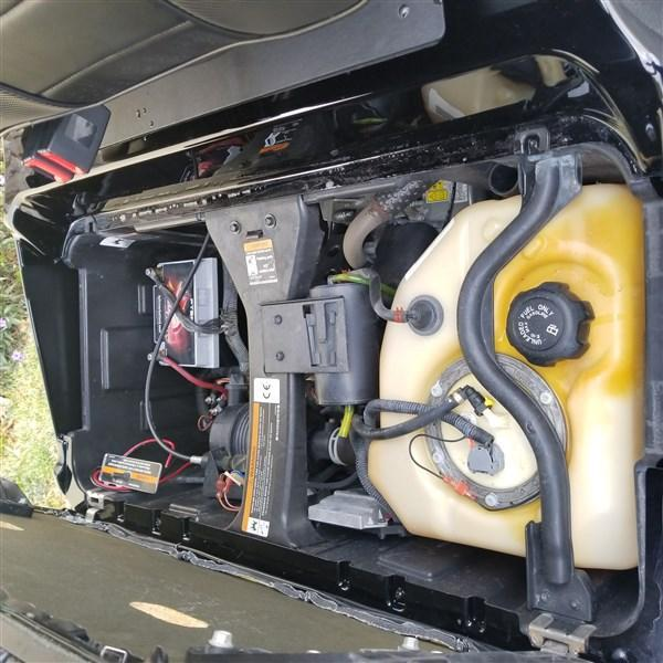 2015 GAS FUEL INJECTED CUSTOM CLUB CAR PRECEDENT