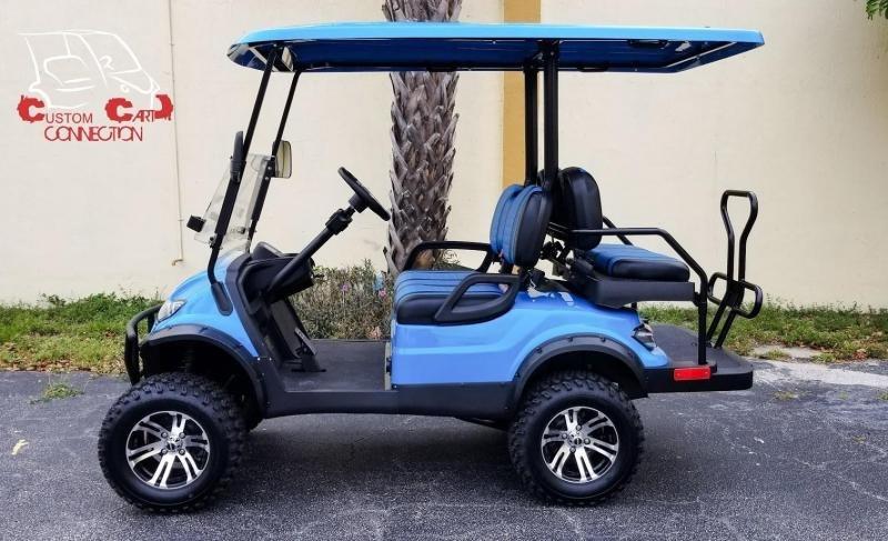 2020 ICON i40L Caribbean Blue Golf Cart