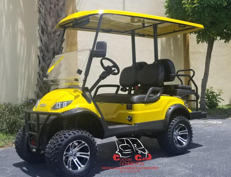 2020 ICON Yellow i40L Golf Cart