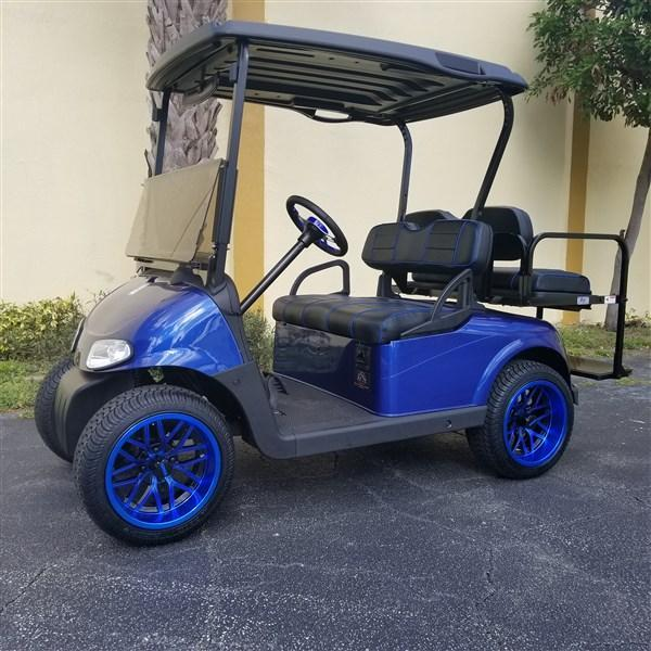 2014 BLUE RXV 23MPH 14″ BLUE RIMS ON LO PRO TIRES