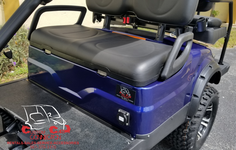 2020 ICON i40L Indigo Blue w/Black Seats Golf Cart