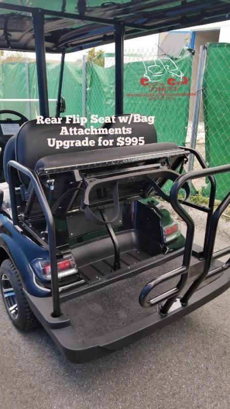 2020 ICON i20 Golf Cart w/Bag Attachment