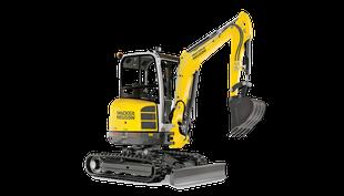 """EZ2.8 Mini Excavator W/12 - 18 or 24"""" Bucket"""