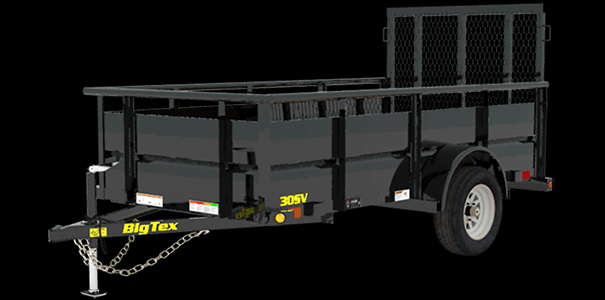 35SV-12 Single Axle Vanguard Trailer