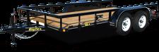 50LA-14 Dual Axle Utility Trailer