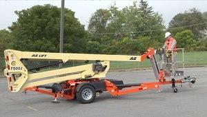 T500 ELECTRIC 50' Articulating boom lift