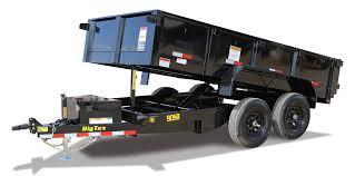 Big Tex Trailers 90SR-10 Dump Trailer
