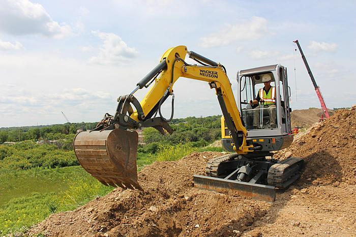 Wacker Neuson EZ 3.8 Excavator w/Thumb