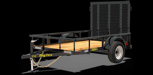 30SA-8 Single Axle Utility Trailer