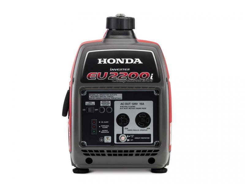 Honda 2200 Watt Inverter Companion Generator