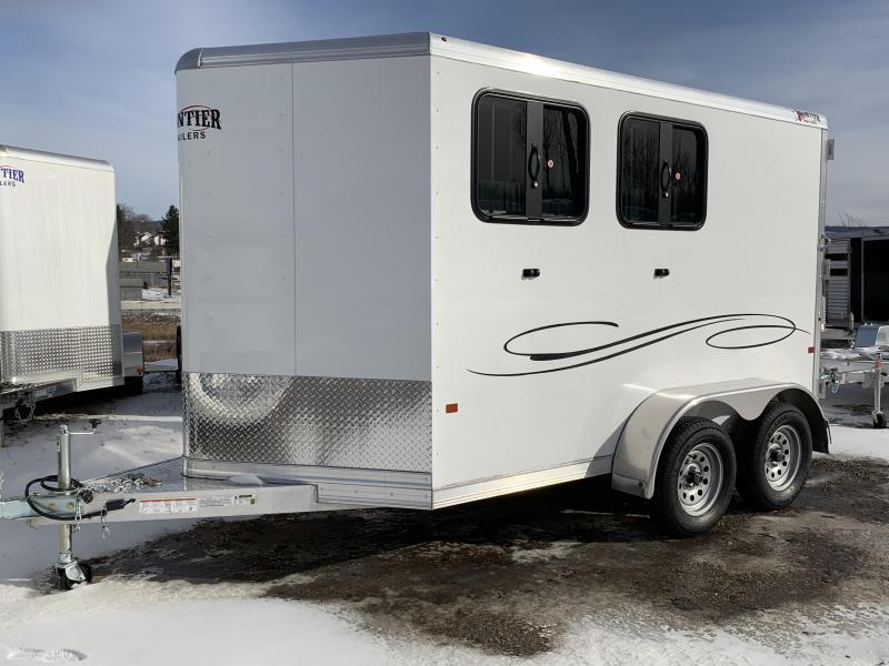2019 Frontier STRIDER LITE Series ALUMINUM 2H Slant Horse Trailer