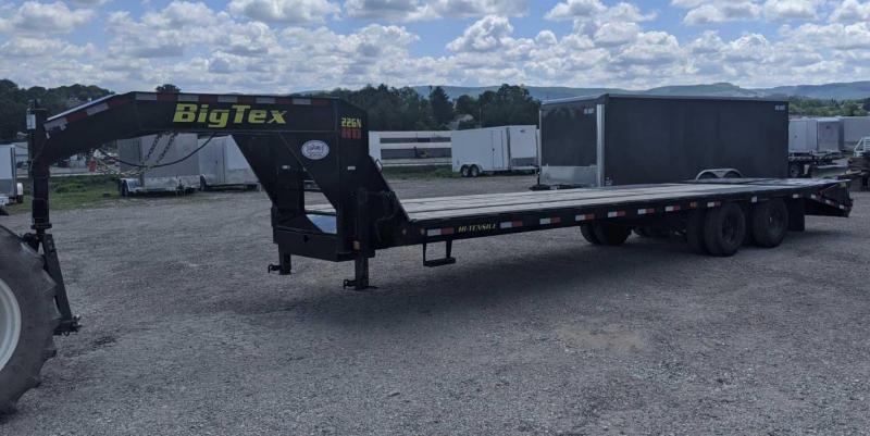 USED 2019 Big Tex 25+5 HD Deckover Gooseneck w/ Mega Ramps