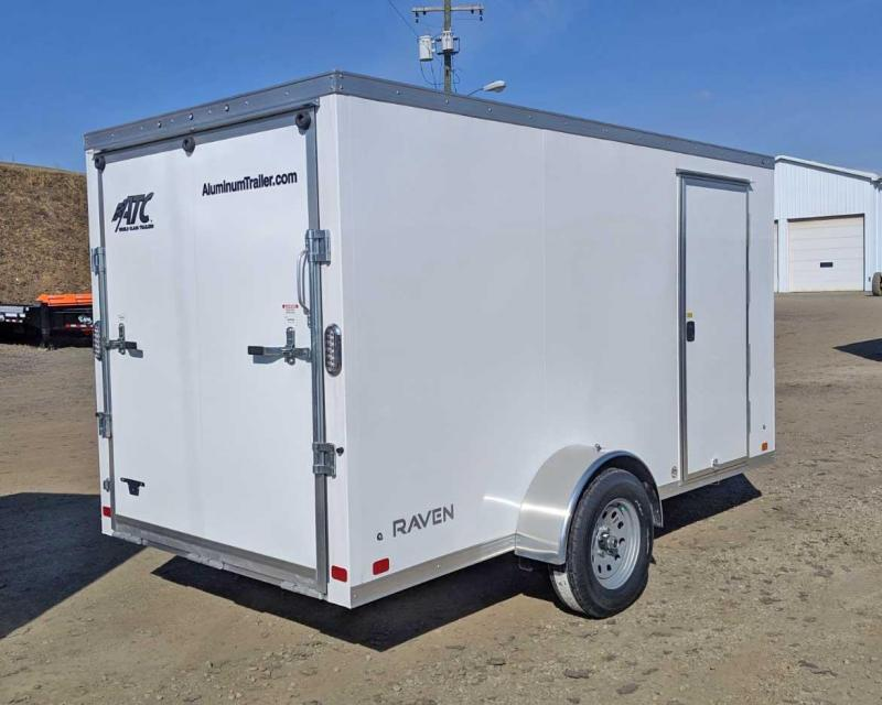 NEW 2019 ATC 6x12 Raven V-Nose Cargo Trailer w/ Ramp