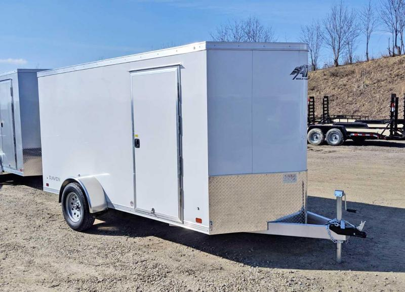 NEW 2019 ATC 6x12 Raven V-Nose Cargo Trailer w/ Ramp