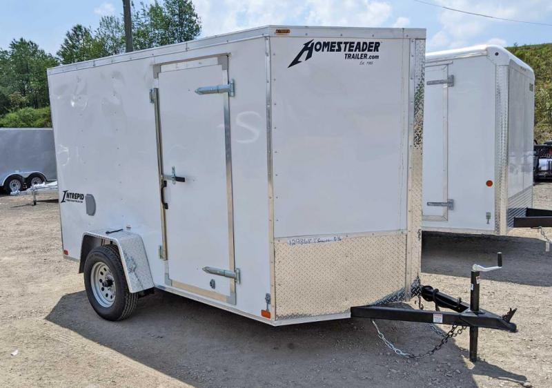 NEW 2020 Homesteader 6x10 V-Nose Intrepid Cargo Trailer w/ Ramp Door