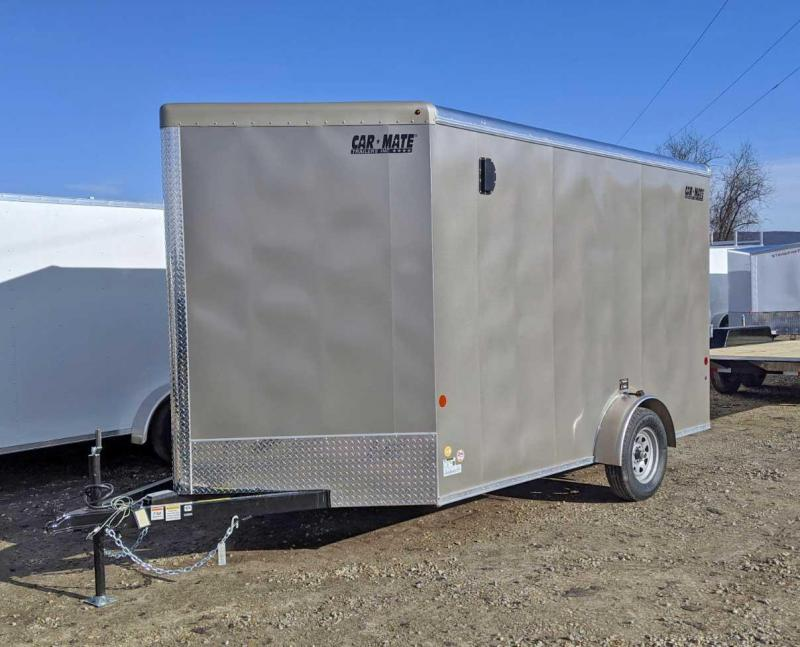 NEW 2020 Car Mate 7x12 Advantage Cargo Trailer w/ Ramp Door