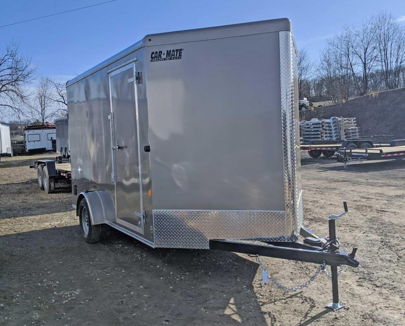 NEW 2020 Car Mate 7x12 Advantage Cargo Trailer w/ Ramp Door