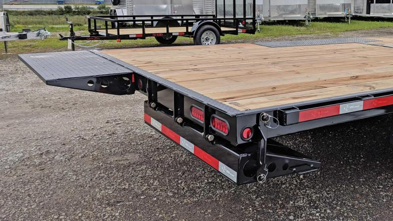 NEW 2020 BWise 22' HD Deckover Power Tilt Trailer