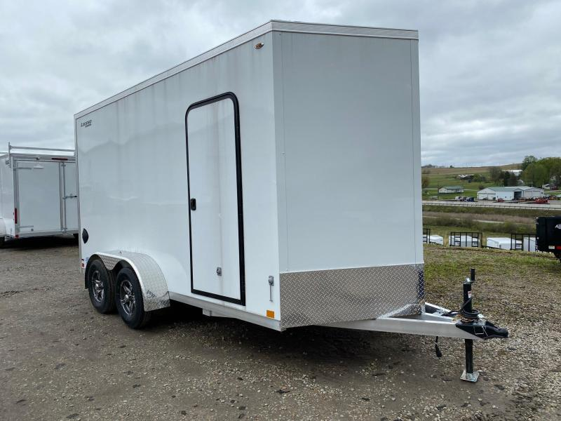 "NEW 2021 Legend 7x14 (+ 2' V) Thunder V-Nose ALUMINUM Cargo Trailer w/ Ramp Door-82"" Thru Rear Ramp Door"