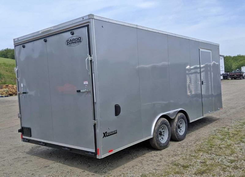 NEW 2020 Cargo Express 8.5 x 20 HD XLW Sloped V-Nose Car Hauler w/ Ramp