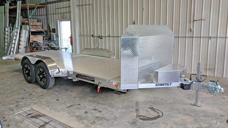 "NEW 2021 Aluma 18' ""25th Anniversary"" Tilt Trailer"