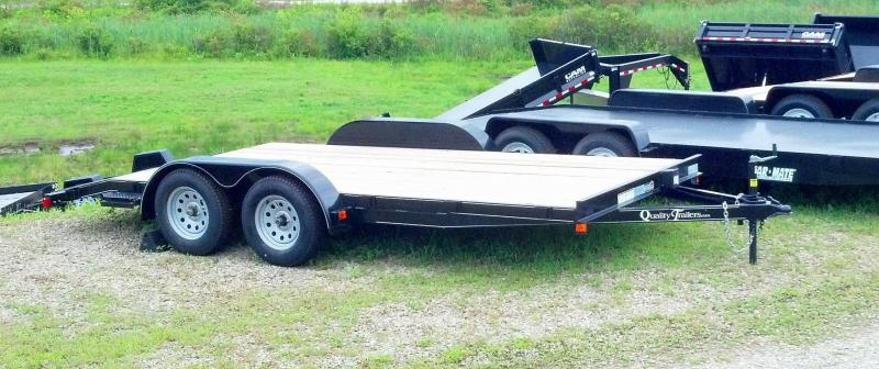"NEW 2020 Quality 16' Econo Car Hauler w/ 2' Dove & 51"" Ramps"