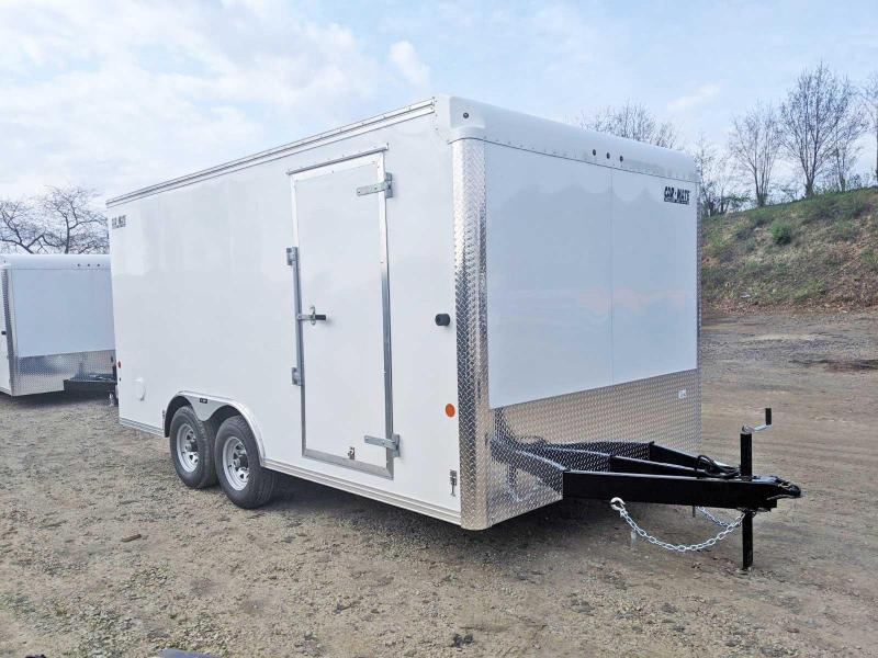 NEW 2020 Car Mate 8x16 HD Custom Cargo Trailer w/ BARN DOORS