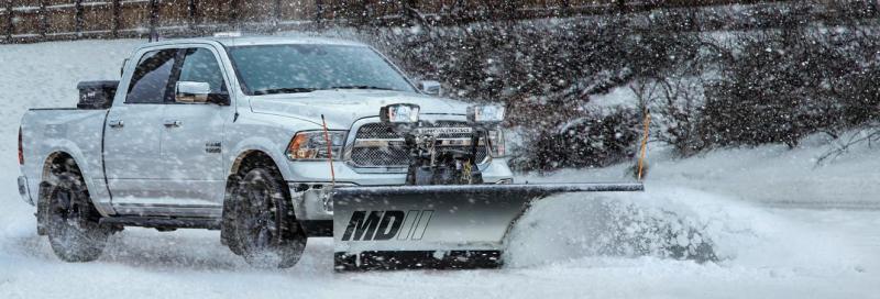 NEW SNOWDOGG 7.5' MD Gen 2 Stainless Steel Snow Plow