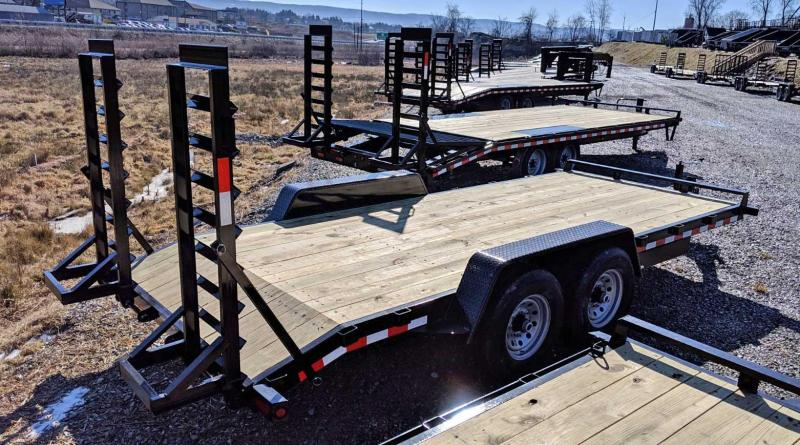 NEW 2020 Quality 18' General Duty Equipment Hauler (6000# Axles)