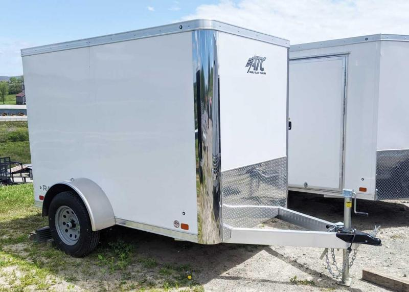 NEW 2020 ATC 5x8 Raven Cargo Trailer w/Barn Doors