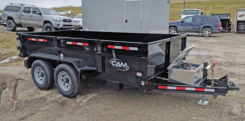 NEW 2020 CAM SUPERLINE 6x12 Lo Pro Equipment Dump Trailer