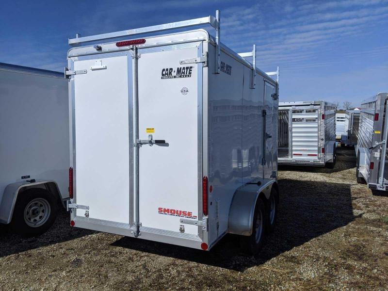 "NEW 2020 Car Mate 6x12 HD Custom Cargo Trailer w/ Barn Doors (6"" Add'l Hgt)"