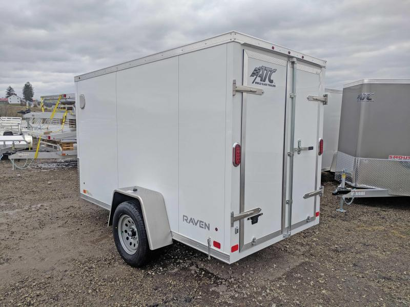 NEW ATC 6x10 Raven Cargo Trailer w/Barn Doors